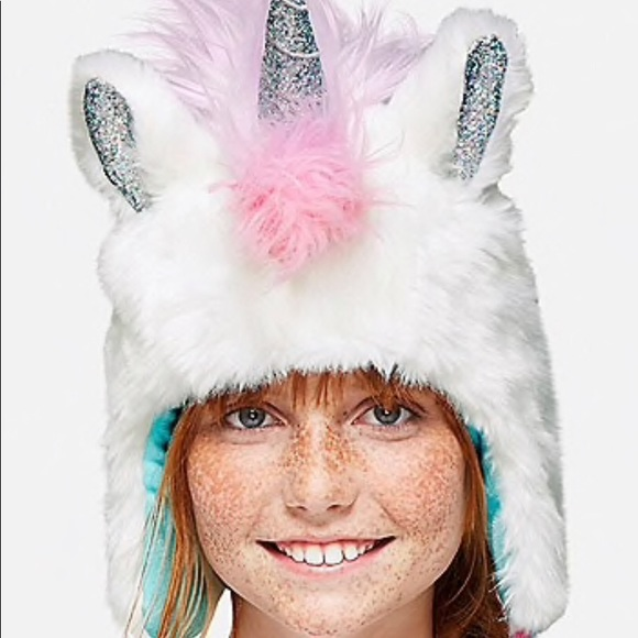 Justice Other - NWOT - JUSTICE Unicorn Hat